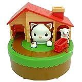 M&A Spielzeug 10018 - Kinder Spardose Katze und Maus mit Musik