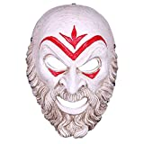 Máscara YN Assassin Odyssey Villain Mask Creed Halloween Performance Dress Up Juego Resina circundante