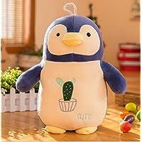 Preisvergleich für Cute and Soft Adorable Penguin Weiches Plüschtier Stofftier Animal Kid Puppe Geschenk (Beige, 30cm)