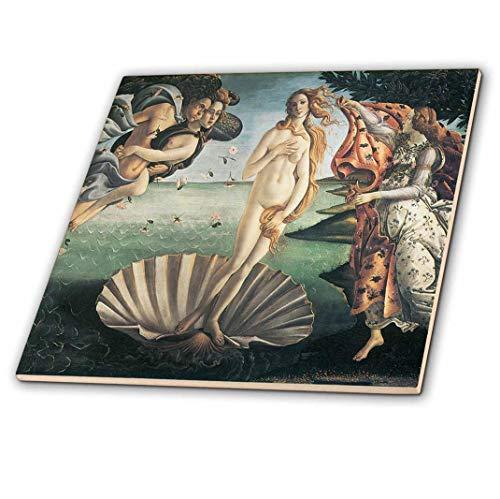 3dRose CT 127039_ 3Geburt der Venus X Sandro Botticelli Keramik Fliesen, 20,3cm -