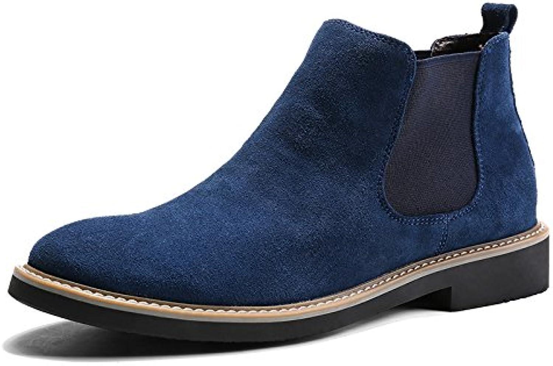 Amico martin chelsea stivali stivali stivali di pelle e 'puntata uomo ma dingxue,blu,41 | Grande vendita  | Uomini/Donne Scarpa
