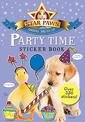 Party Time Sticker Book (Star Paws Animal Dress-Up)