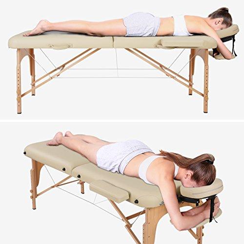 Lettino Massaggio Professionale Pieghevole.Naipo Lettino Massaggio Professionale Lettino Per Massaggi