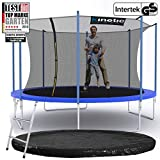 Kinetic Sports Outdoor Gartentrampolin Ø 396 cm, TPLS13, inklusive Sprungtuch aus USA PP-Mesh...