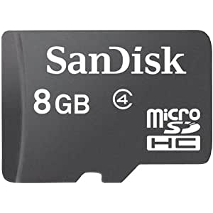 SanDisk Micro SDHC 8GB Class 4 Speicherkarte