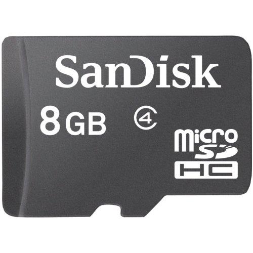 SanDisk Micro SDHC 8GB Class 4 Speicherkarte (Sandisk Class 4 Micro Sd-karte)