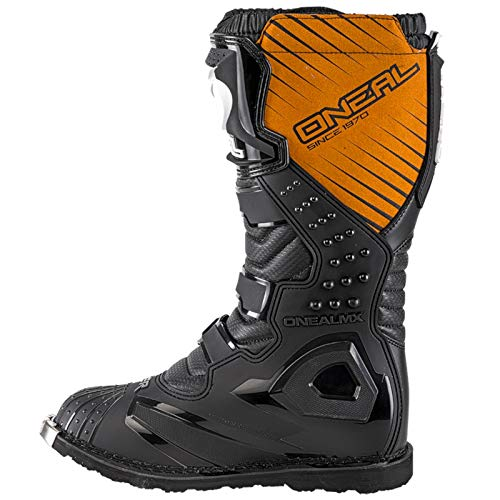O'Neal Rider Boot MX Stiefel Schwarz Moto Cross Motorrad Enduro Boots, 0329-1, Größe 43 - 3