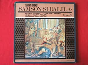 Adler, Kurt Saint Saens Samson Si Dalila 3LP Electrecord STECE0428-30 EX/VG 1966 3-LPs boxed with booklet, made in Romania