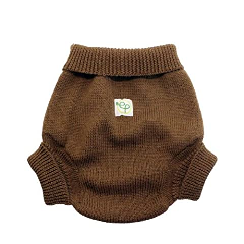 EcoPosh Size 1 Wool Diaper Cover (Umber)