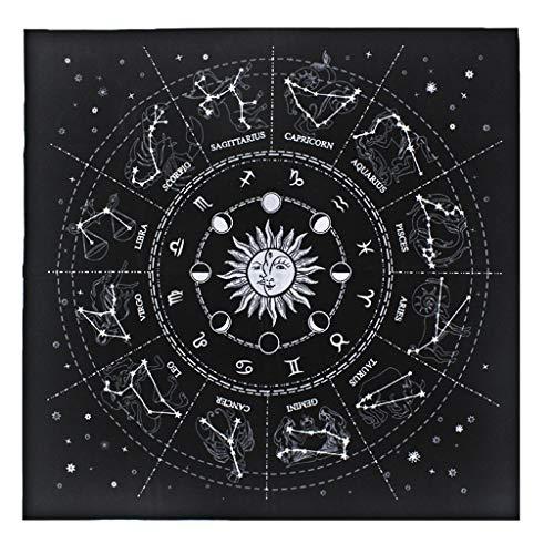 ER NMBGH franela mantel adivinación Tarot estrellas