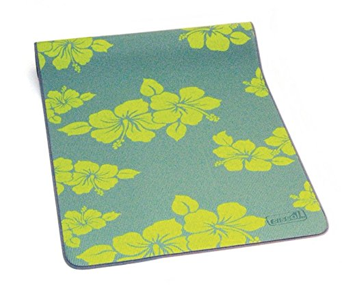 SISSEL Yoga Matte Flower + zwei Yoga Blöcke * NEU * (Grün)