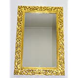 Monica Hand Carved Wall Mirror Frame