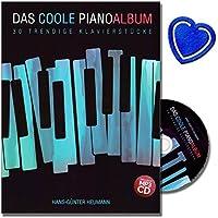La moderna piano album 30alla moda Debussy–30pezzi originale e leggeri/medi bearbeitungen in stili Pop/Rock, Minimal Music e la musica New Age con CD e herzförmiger graffetta