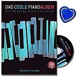 Das coole Pianoalbum 30 trendige Klavierstücke - 30 leichte bis mittelschwere Originalstücke und Bearbeitungen aus den Musikstilen Pop/Rock, Minimal Music und New Age mit CD und Notenklammer