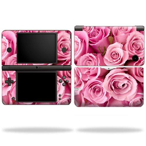 mightyskins Haut für Nintendo Schutz, Langlebig, und Einzigartige Vinyl Aufkleber WRA Pink Roses DSI XL (Dsi-skin Vinyl)