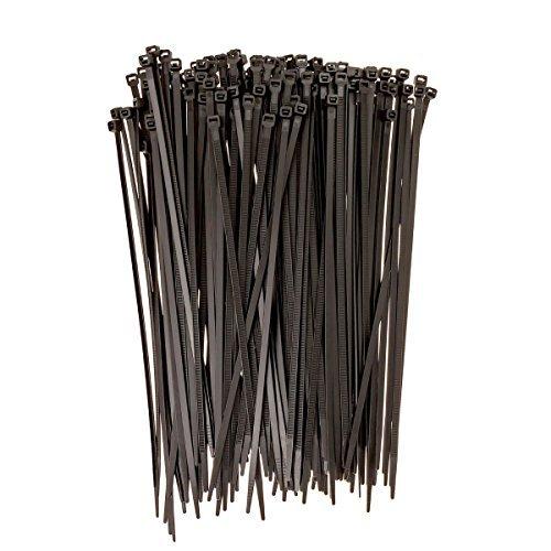 conwork selbstsperrenden Nylon Kabelbinder, Indoor Outdoor UV-beständig, 20,3cm 500PCS-Schwarz (Outdoor-telefonkabel)