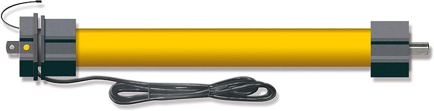 Schellenberg 20810 Funk-Rohrmotor Premium 10 Nm, max. Zugkraft 15 kg, Rolladenmotor für 60mm Welle/Geeignet für Schellenberg Smart Home und Smart Friends/Steuerbar mit Handsender und FunkZeitschaltuhr