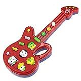 Tefamore-Musical Juguete De Electrónica De Guitarra Infantil Rima Música Niños Bebé Niños Regalo (azar)