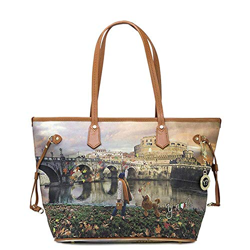 5d709abd38233 YNOT Shopping Bags BORSE   ACCESSORI K-319 ROMA Joyful Wind Nuovo