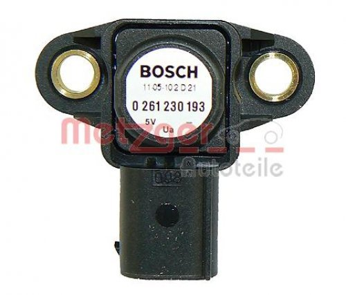 Preisvergleich Produktbild Metzger 0906126 Sensor, Ladedruck