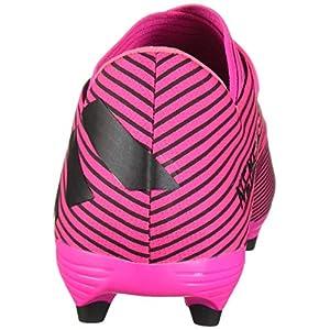 adidas Nemeziz 19.2 Firm Ground Zapatos de fútbol para Hombre, Rosa (Shock Pink/Black/Shock Pink), 40 EU