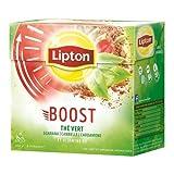Lipton Pyramid Thé Vert Boost 20 Sachets 40 g - Lot de 4