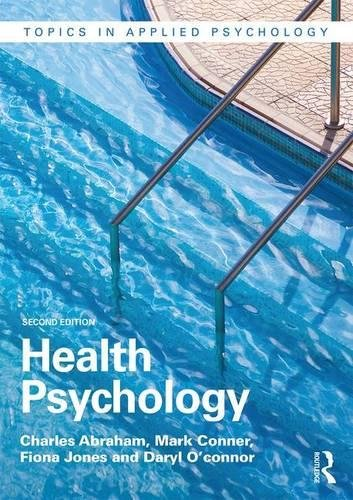 Health Psychology (Topics in Applied Psychology)