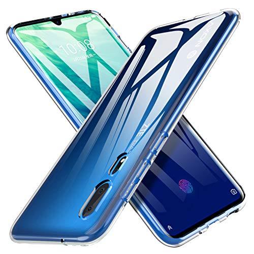 iBetter für ZTE AXON 10 Pro Hülle, Soft TPU Ultradünn Cover [Slim-Fit] [Anti-Scratch] [Shock Absorption] passt für ZTE AXON 10 Pro Smartphone,klar