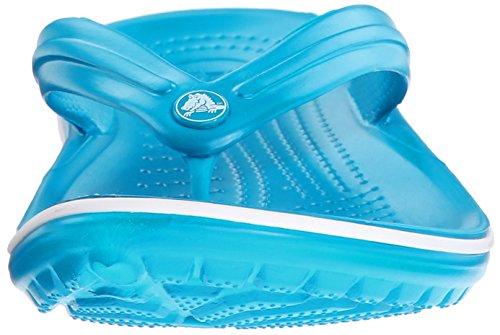 crocs Unisex-Erwachsene Crocband Flip Pantoffeln Blau (Ultramarine/White)