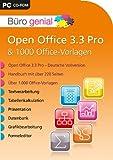 Büro genial Open Office 3.3 Pro & 1.000 Office Vorlagen