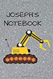 """Joseph's  Notebook: Funny Digger  Writing 120 pages Notebook Journal -  Small Lined  (6"""" x 9"""" )"""