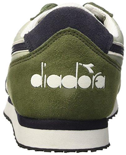 Diadora K-run Ii, Baskets  homme Verde (Verde Olivina/Nero Fumo)