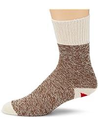 Fox River Socks Funktionssocken Original Rockford rote Hacke - Calcetines para hombre, color marrón, talla XL