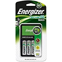 Chargeur d'accus + 4 accus AA (R6) NiMH 2300 mAh Energizer Compact Charger