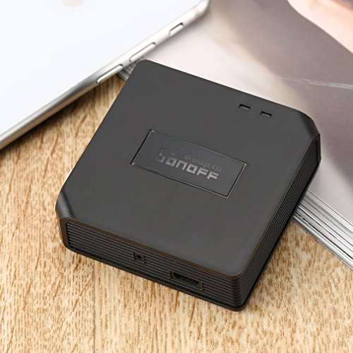 Sonoff-RF-Bridge-433MHz-Mdulo-de-automatizacin-del-hogar-inalmbrico-inteligente-Aplicacin-Controlador-remoto-Universal-temporizador-WiFi-Hub-para-puerta-de-garaje-Color-negro