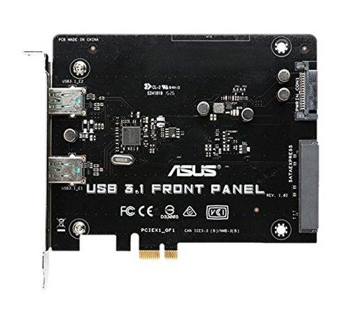 ASUS USB 3.1 Front Panel 1x SATA Express 1x SATA Power Plug 2X USB 3.1 -