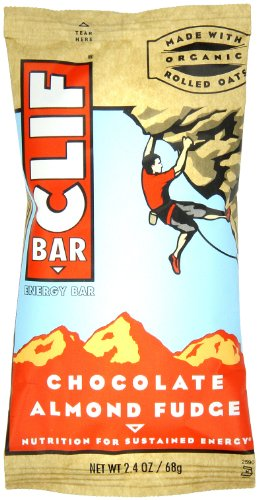 Cliff Bar Clif Bar, Og, Choc Almd Fdg, 68 g (Pack of 12) [Kohlenhydrate] -