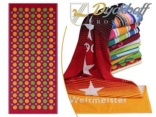 Dyckhoff Liegetücher erhältlich mit 12 Modernen Motiven - in Verschiedenen Größen -...
