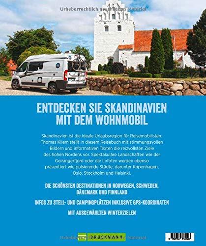 Bildband: Wohnmobil Highlights Skandinavien. Die schönsten Ziele und Touren in Schweden, Norwegen, Dänemark und Finnland. Infos zu Stellplätzen und Campingplätzen inkl. GPS-Koordinaten.: Alle Infos bei Amazon