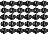 Easycargo 30Pcs piccolo mini dissipatore dissipatore di calore per kit, mini raffreddamento VRM stepper driver MOSFET Vram regolatori (8.8mmx8.8mmx5mm)