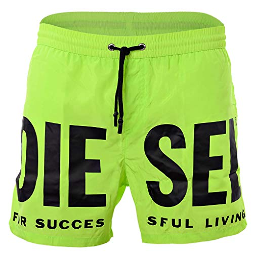 Diesel Pantalones Cortos de baño para Hombres BMBX-Wave - Bañador, Boxer de baño, Malla de inserción...