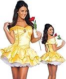 Gorgeous Belle Disney Märchenprinzessin Kostüm Schneewittchen SpielkleidungNacht