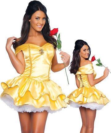 DLucc Belle Disney Märchenprinzessin Kostüm Schneewittchen (Vampir Kostüme Bella)