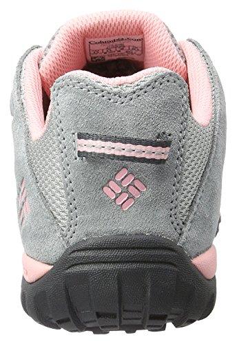 Columbia Youth Redmond, Chaussures de Running Compétition Fille Gris (Steam, Rosewater 088)