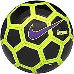 Nike Menor Balón, Blanco (Black / Volt / Hyper Grape), Única