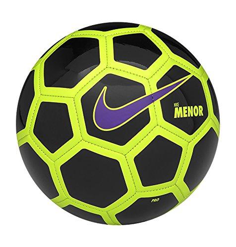 Nike Menor Balón, Blanco (Black / Volt / Hyper Grape), Única