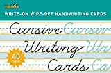 Write-On Wipe-Off Cursive Writing (Write-On Wipe-off Learning Cards)