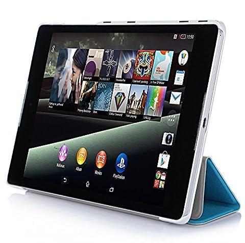 IVSO Slim Smart Cover Housse pour HTC Nexus 9 8.9-Inch Tablette avec Fonction Sommeil/Réveil Automatique