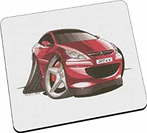1st-Class-Designs Kool Art – Peugeot 307 CC Car – Tapis de souris