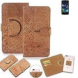 K-S-Trade 360° Cover cork Case for Alcatel Idol 4 Pro |